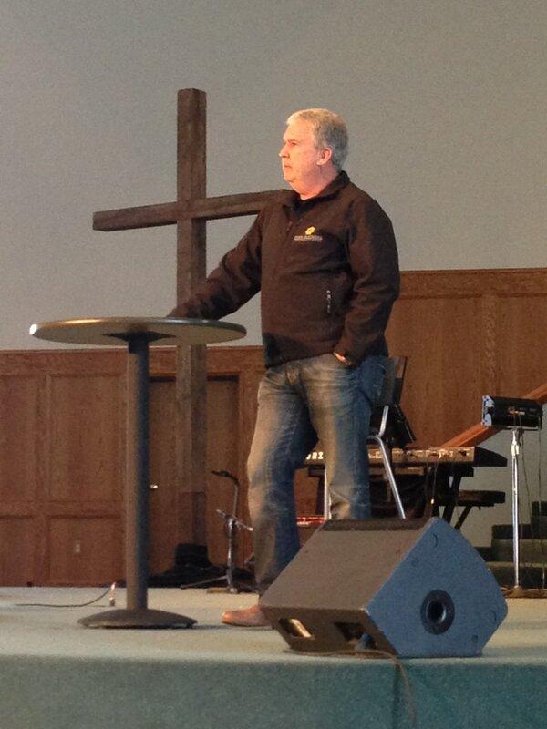 Kirk Preaching