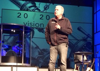 Kirk Speaking at the Church at Viera